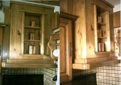 hotte aspirante en bois massif le bois et moi geppeto. Black Bedroom Furniture Sets. Home Design Ideas